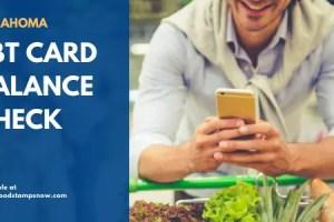 Oklahoma EBT Card Balance Check