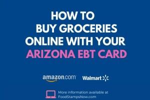 """""""Buy Groceries Online with Arizona EBT"""""""