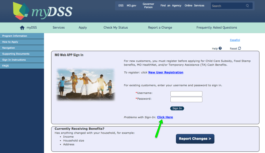 """How to Login to Mydss Missouri Account - forgot username and password"""