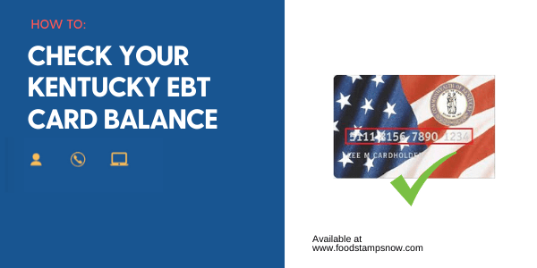 """Kentucky EBT Card Balance"""
