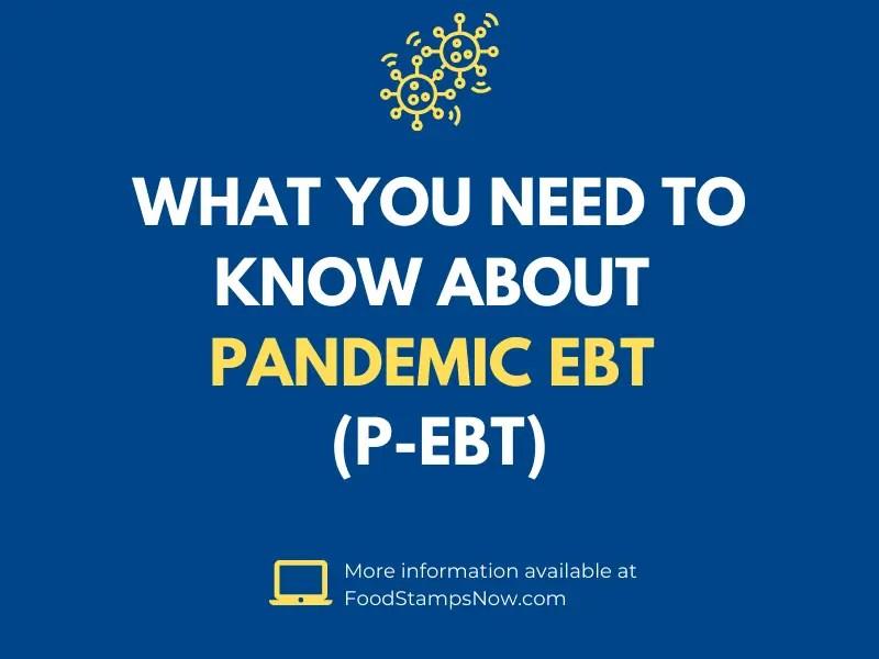 Pandemic EBT (P-EBT) Guide