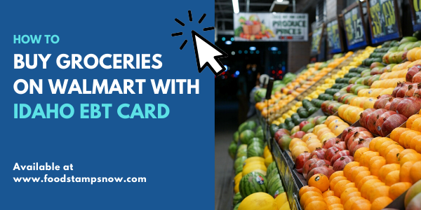 Buy Groceries on Amazon Walmart Idaho EBT