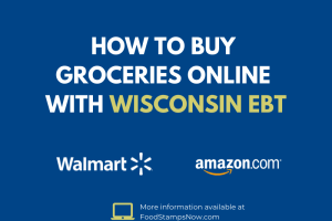 Buy groceries online with your Wisconsin EBT Card