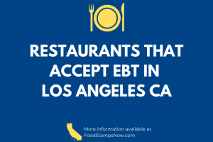 Restaurants that accept EBT in LA