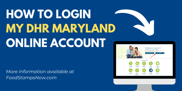 My DHR Maryland Login Help