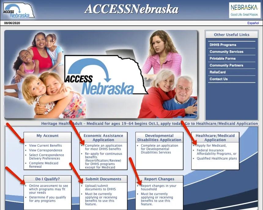 """""""ACCESSNebraska Login Instructions 2"""""""