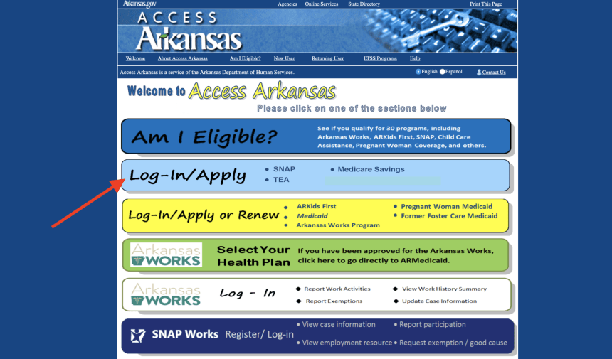 Access Arkansas Gov Login