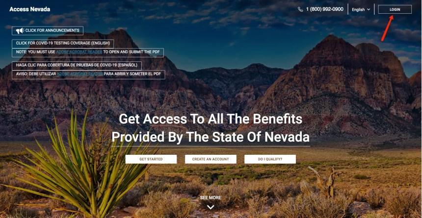 """Access Nevada Login Instructions"""