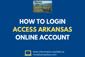 How to login Access Arkansas Online Account