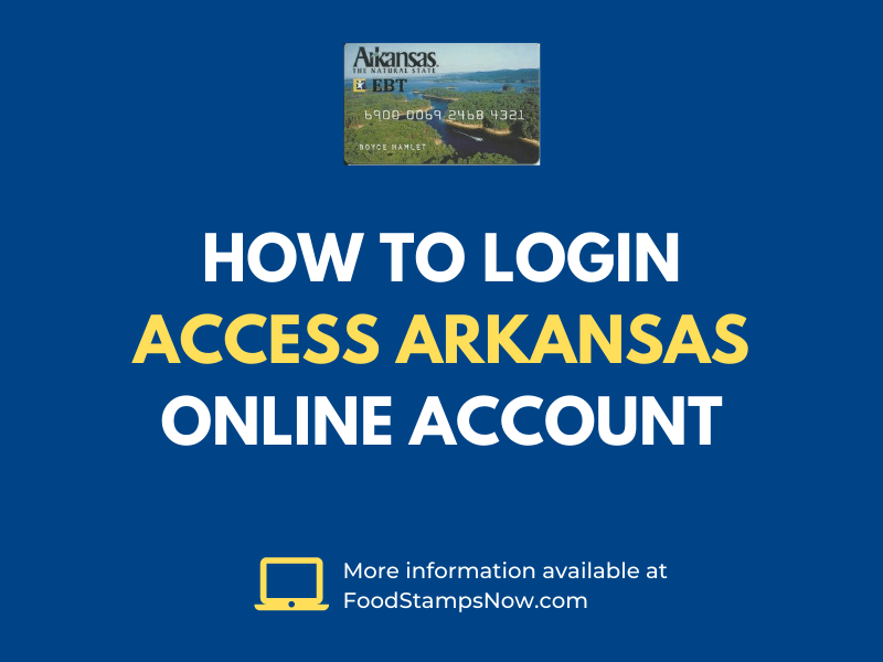 How to login Access Arkansas Online Account