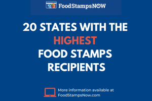 """""""What state has the highest use of food stamps"""""""