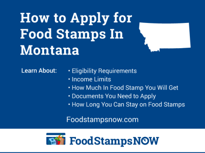 """How to Apply for Food Stamps in Montana Online"""