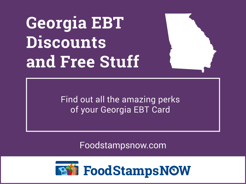 """Georgia EBT Discounts and Perks"""