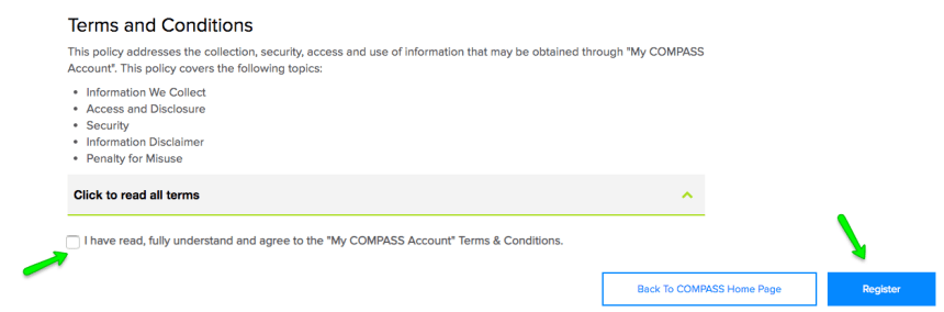 """Create Compass.state.pa.us Account Help -3"""