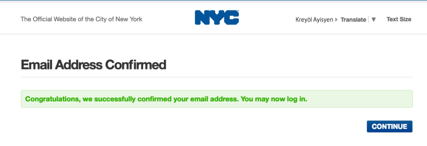 """NYC ACCESS HRA account set up"""