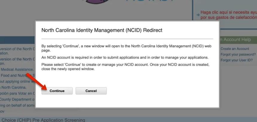EPass NC Gov Forgot User ID 2
