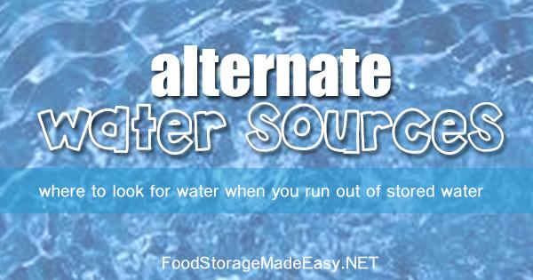 WaterAlternateWhere