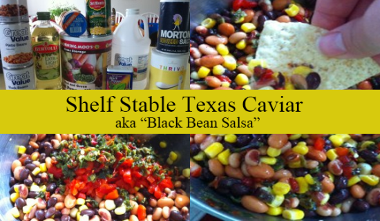 Texas Caviar - AKA Black Bean Salsa