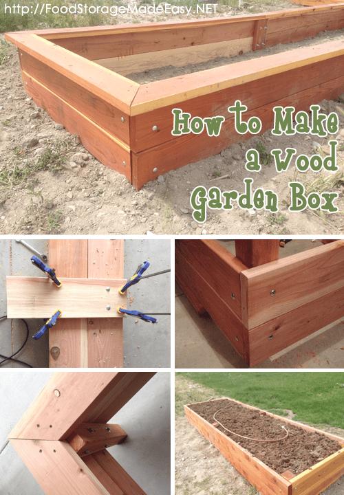 Beau How To Build A Wood Garden Box