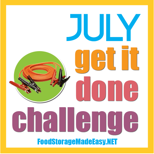 July Get it Done Challenge:  Car Kit Update