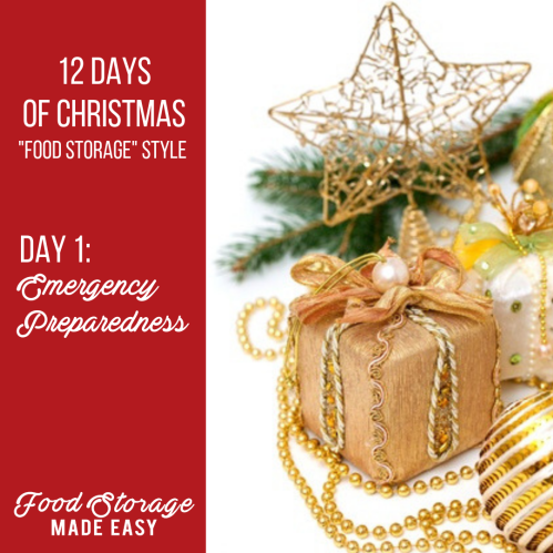 Emergency Preparedness Gift Ideas - Pinterest Graphic