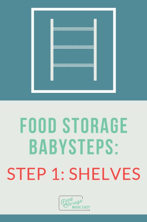 Food Storage Shelves Pin