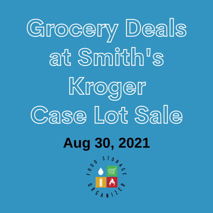Smith's Case Lot Sale Price List Fall 2021
