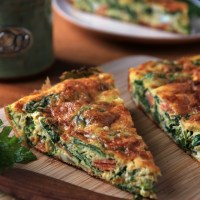 Kale Frittata - A Healthy Breakfast Casserole Colorado Denver Foodblog German recipes My Kitchen in the Rockies | A Denver, Colorado Food Blog