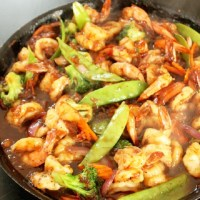 Spicy Pineapple Shrimp Stir Fry - Creole Contessa