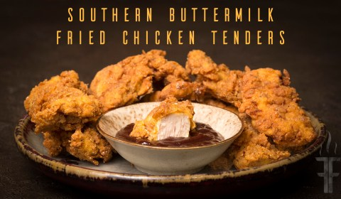 How to make Southern Buttermilk Fried Chicken Tenders or Fried Chicken. I will include some recipe variations.