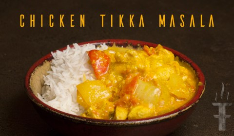 How to make Chicken Tikka Masala.