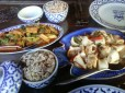 Tofu Stired Fried and Spicy Squid