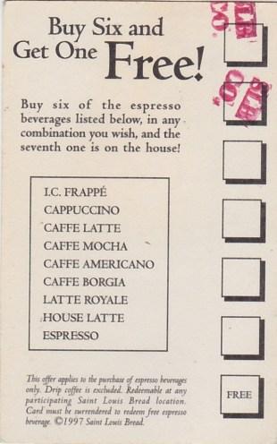 Cappuccino club back