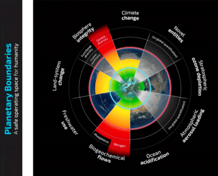 Confini planetari, Molly Anderson