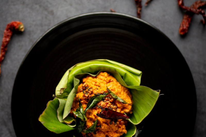 Red Chilli And Coconut Chutneys