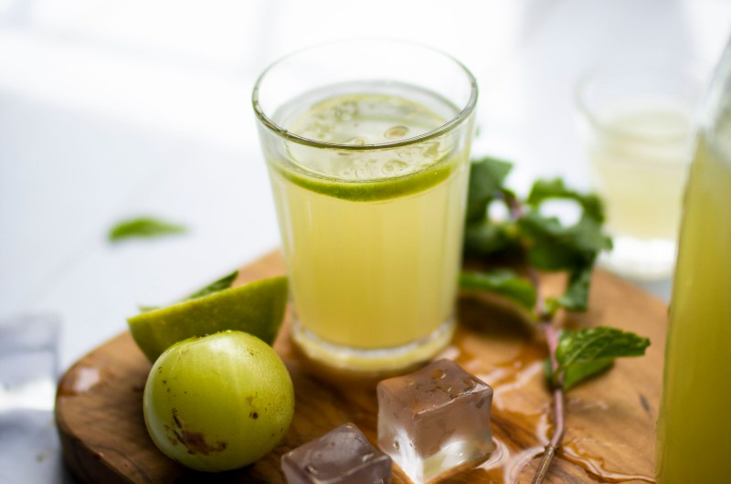 Gooseberry and Ginger Immunity Boosting Drink