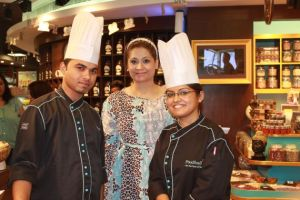 Chef Haleem,Kanchan Kapoor and Chef shipra