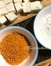 Main Ingredients( Paneer, Doritos,Cornstarch)
