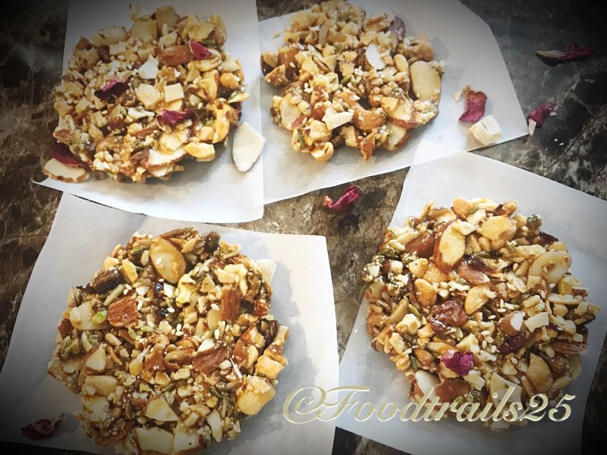 Mixed Nut Gur Chikki