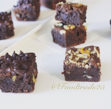 Fudgy Brownies with Eggs