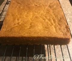 Baked Eggless Sponge Cake