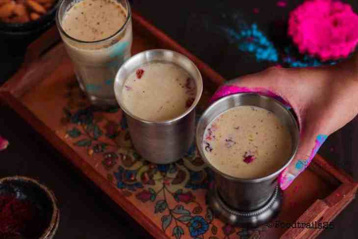 Thandai for Holi/Summers