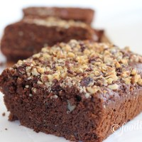 Zucchini and Carrot Chocolate Nut Bread-Egg-Free