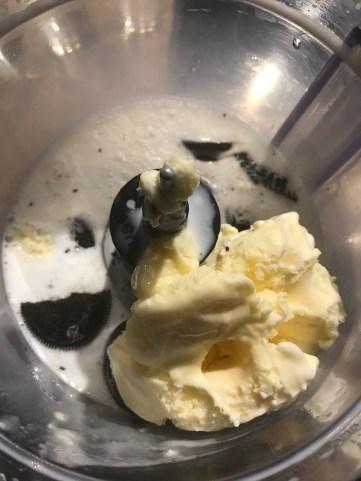 Add vanilla ice cream