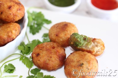 Aloo Poha Cutlets