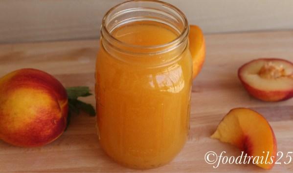 Peach Sugar Syrup