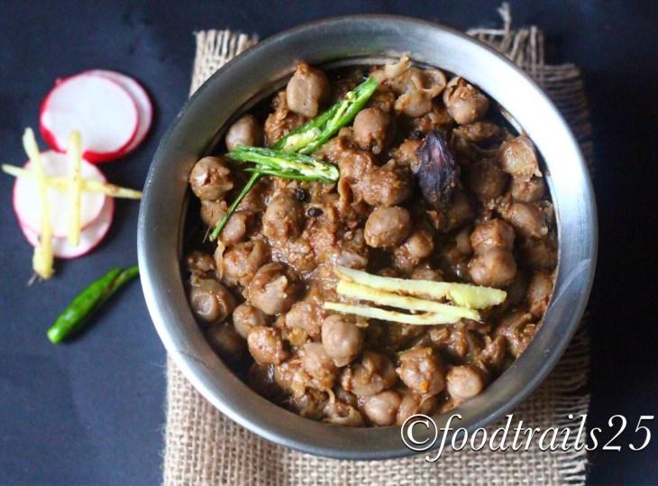 Pindi Chole no-onion no-garlic