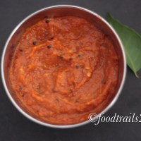 Roasted Bell Pepper and Tomato Garlic Chutney