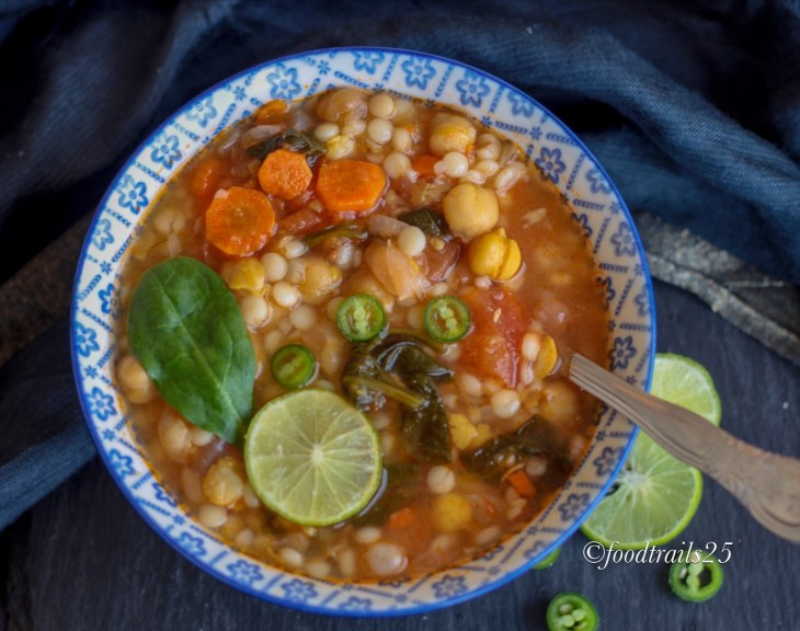 Chickpea and Couscous Soup