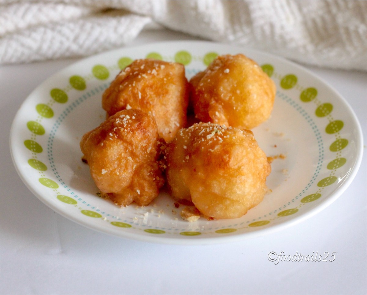 Loukoumades(Greek Donuts)